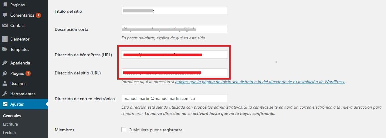 URL Canonica en Worpress - Mercadeo Eficaz